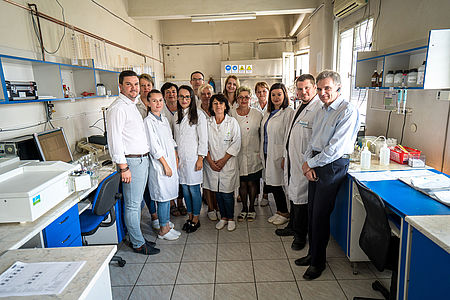 Meet the colleagues from the Environmental analysis laboratory