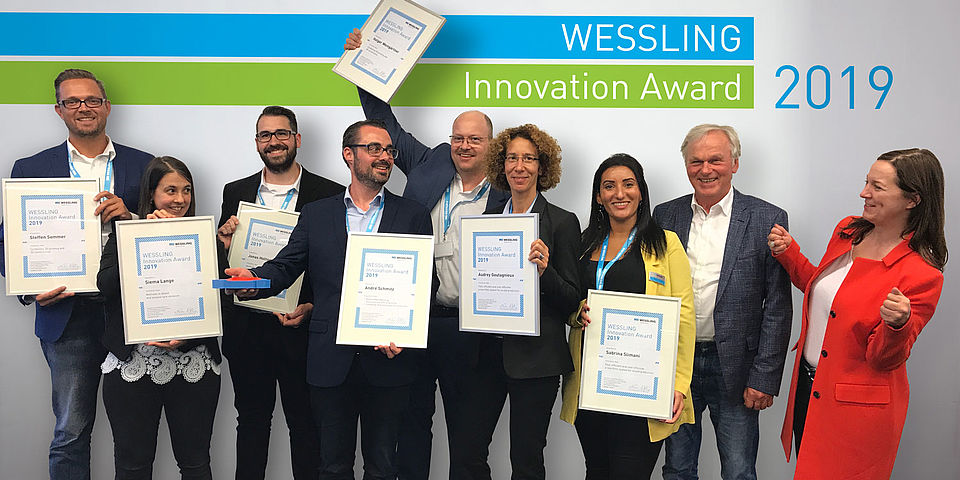 The winners of the WESSLING Innovation Award 2019