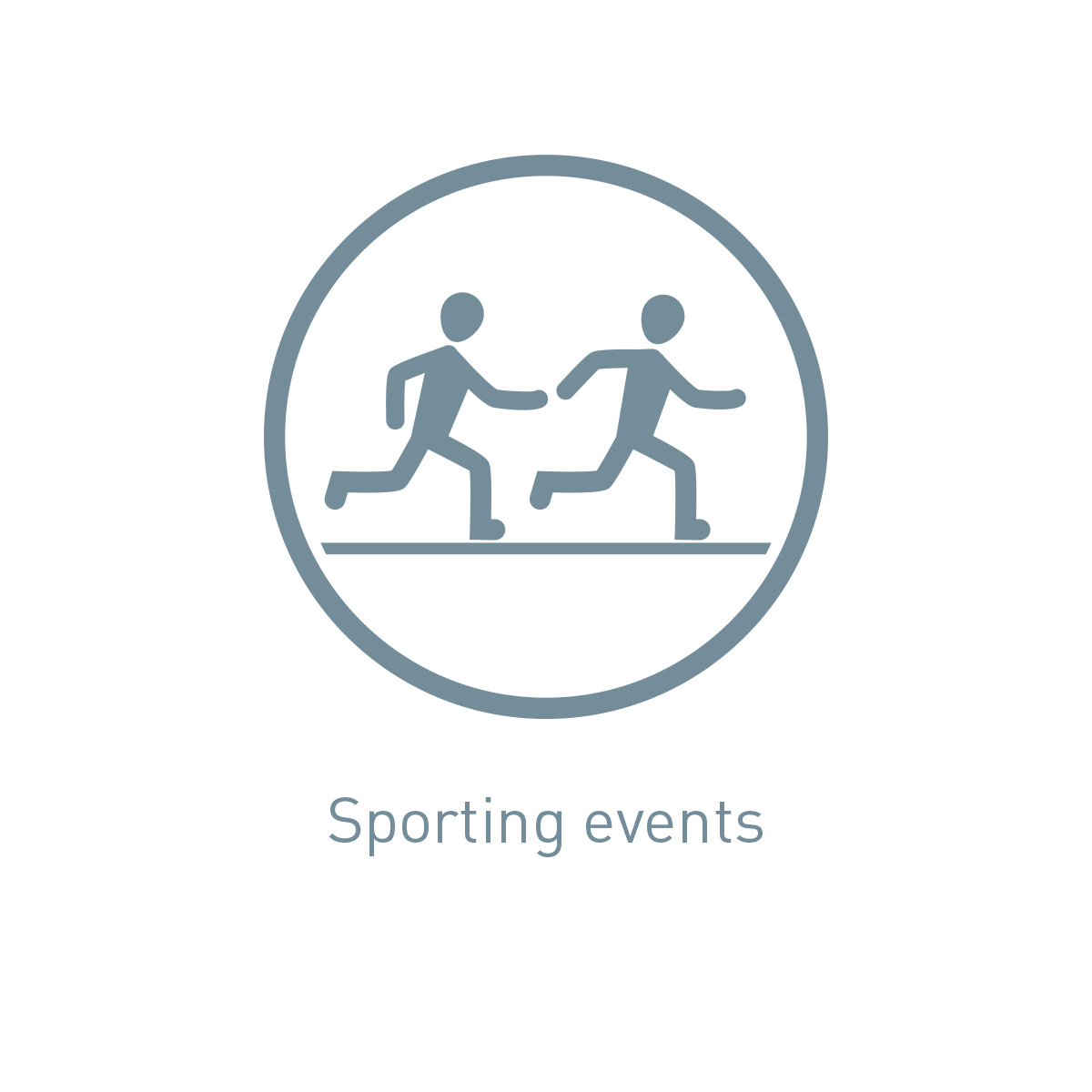 Icon sporting events